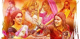 Pataakha Movie Dialogues banner