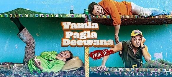 Yamla Pagla Deewana Phir Se dialogues post