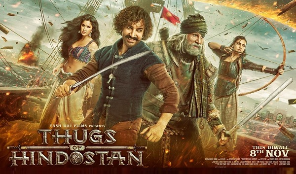 Thugs of Hindostan Dialogues Banners